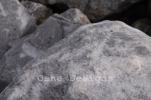 Rocks on the Sound.